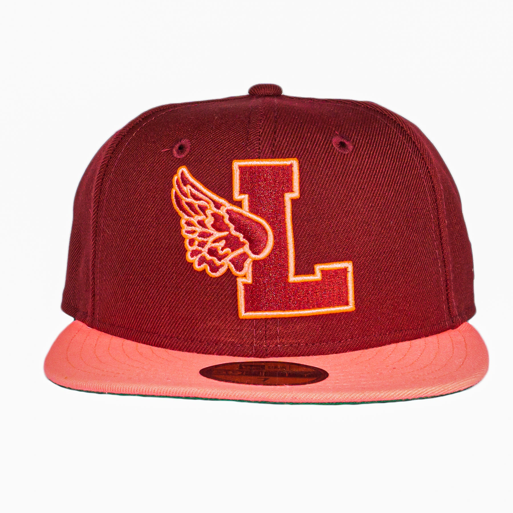 Strawberry L-Wing Fitted Hat