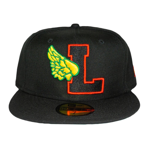 Rasta L-Wing Fitted Hat