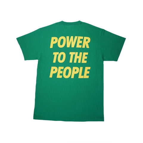 Power To The People Green