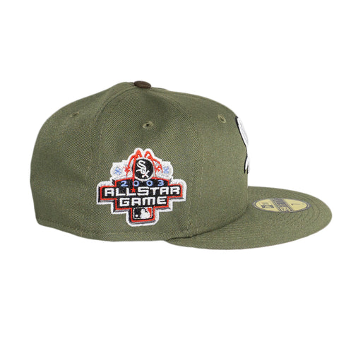 Chicago White Sox Olive All-Star Fitted Hat