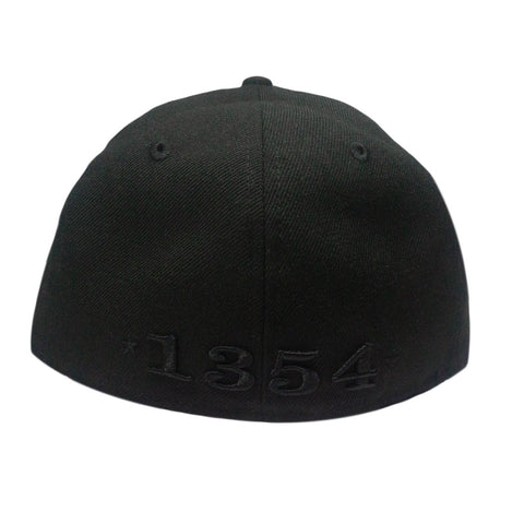 Chicago Leaders Blackout Fitted Hat