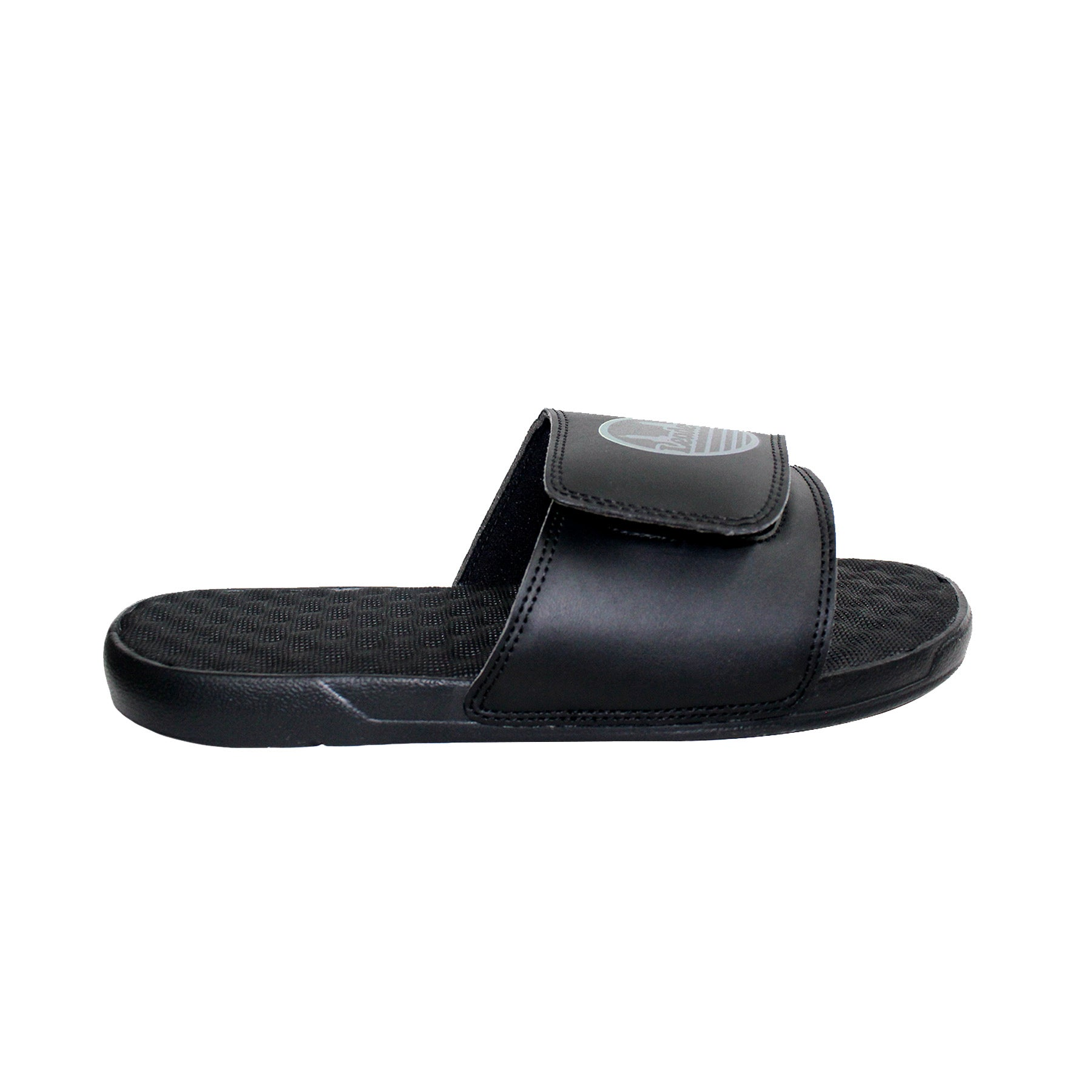 Black/Silver Seal Slides