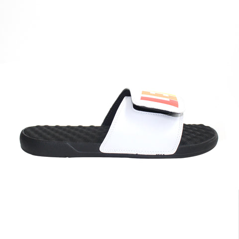 White/Black Multi-Color Slides