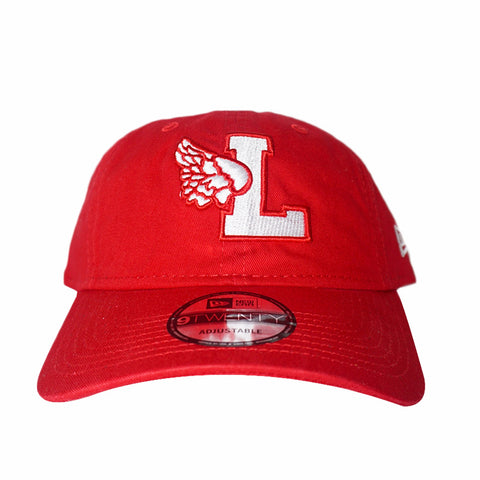 L-Wing Dad Hat Red