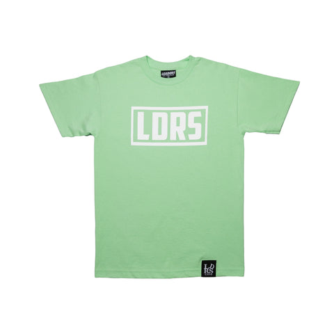 """Box Logo"" Mint - leaders1354"