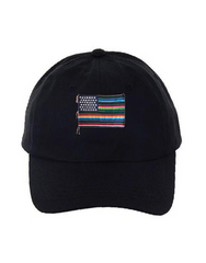Mi Bandera Dad Hat Black