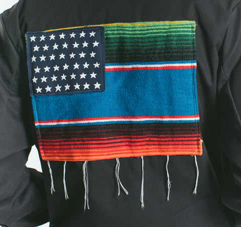 Mi Bandera Jacket Black - leaders1354
