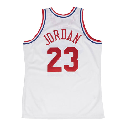 Michael Jordan 1991 All-Star Jersey White - leaders1354