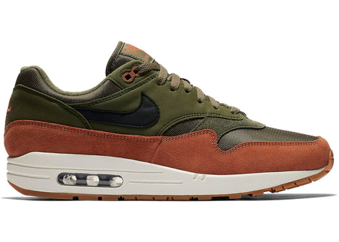 Nike Air Max 1 Olive/Rust - leaders1354