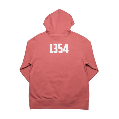 """Box Logo"" Dusty Rose - leaders1354"