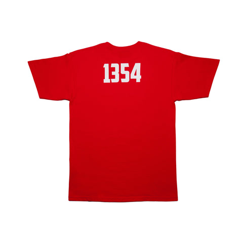 """Box Logo"" Red - leaders1354"