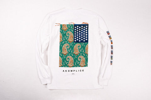 """Unity Flag"" LS White - leaders1354"