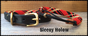 Red Tartan Furs 'N Hers Dog Collar & Bracelet