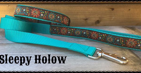Aztec Sun Dog Leash