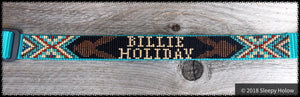 Nylon Beaded Overlay Dog Collar - Custom Order