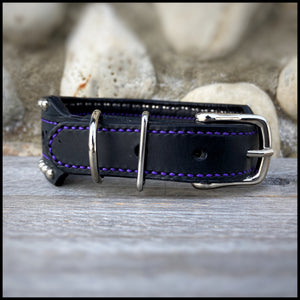 Brogue Dog Collar - Custom Order