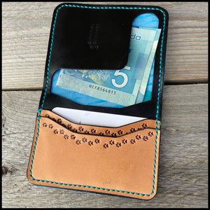 Money Holder Two-Pocket Card Wallet