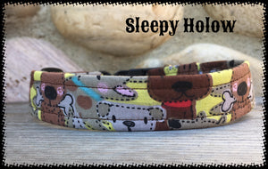 Puppy Fabric Dog Collar