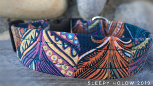 Custom Fabric Collar - Western Style
