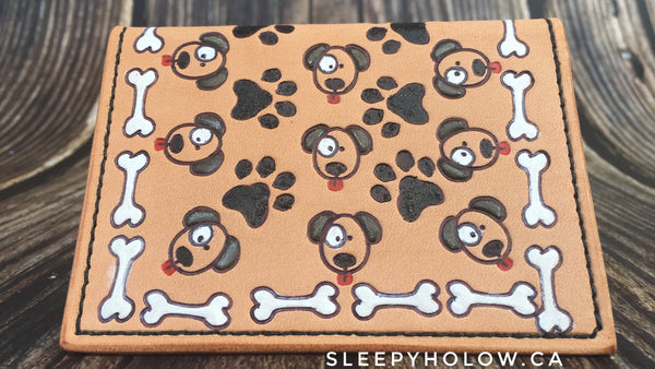 Puppy Card Wallet