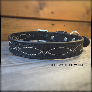 Custom Ranger Leather Dog Collar