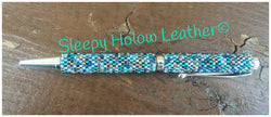Sleepy Holow bead artist hand-beaded twist ball point pen, Alberta