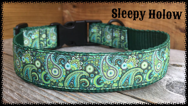 Gord Paisley Dog Collar