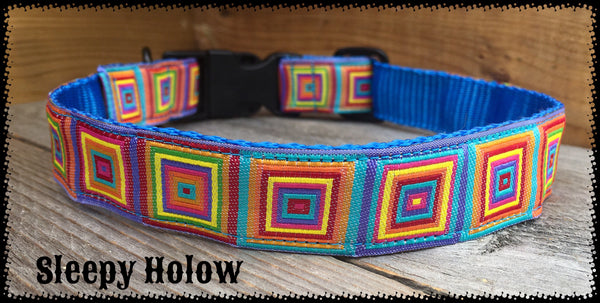 Hopscotch Dog Collar