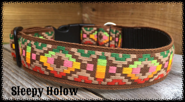 Aztec Sunset Dog Collar