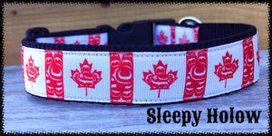 Canadiana Dog Collar