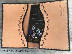 Puppy Two-Pocket Card Wallet