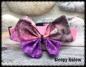 Batik Dog Collar Butterfly