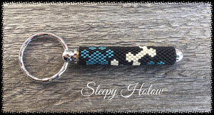 [Leather Beaded Bracelet] - Sleepy Holow
