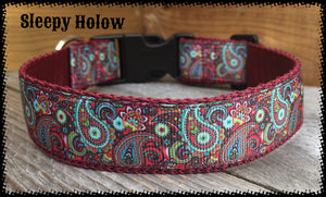 Kimberley Paisley Dog Collar