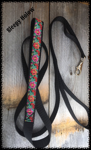 Bright Flower Safety Dog Leash
