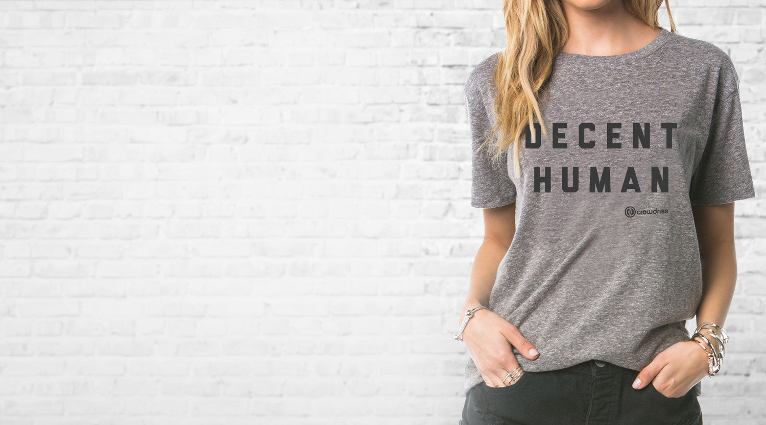 Decent Human Tees and Hoodies