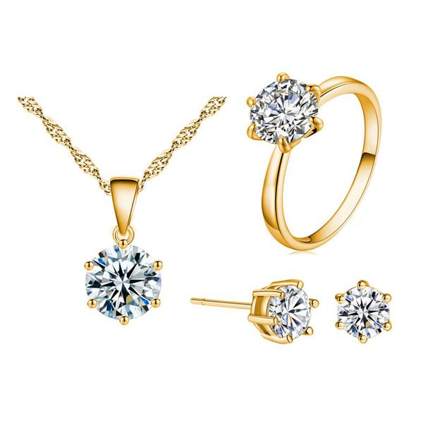 Womens - Authentic Cardoza CZ Diamond Jewelry Sets [FREE]