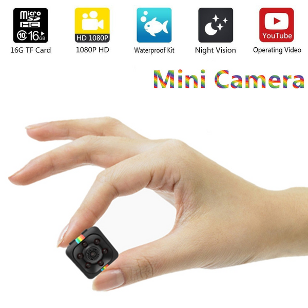 Unisex - Authentic Nanojet Waterproof Hidden Mini Cam