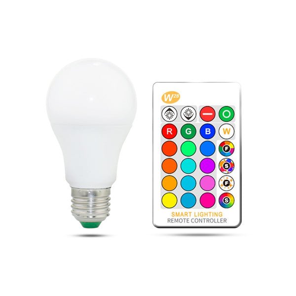 Unisex - Adjustable NightBox 16 Colour LED Light Bulbs [FREE]