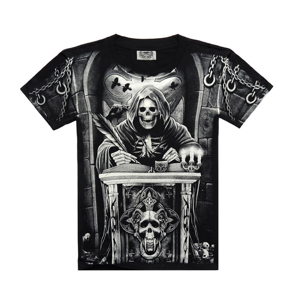 Mens - Exclusive CheveLock Rebel Skull Tee