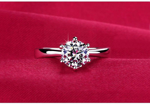 Womens - Exclusive MeyliffK CZ Crystal Ring [FREE]