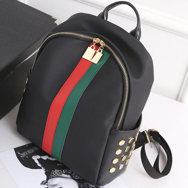 Womens - Exclusive VelveContra Striped Backpack