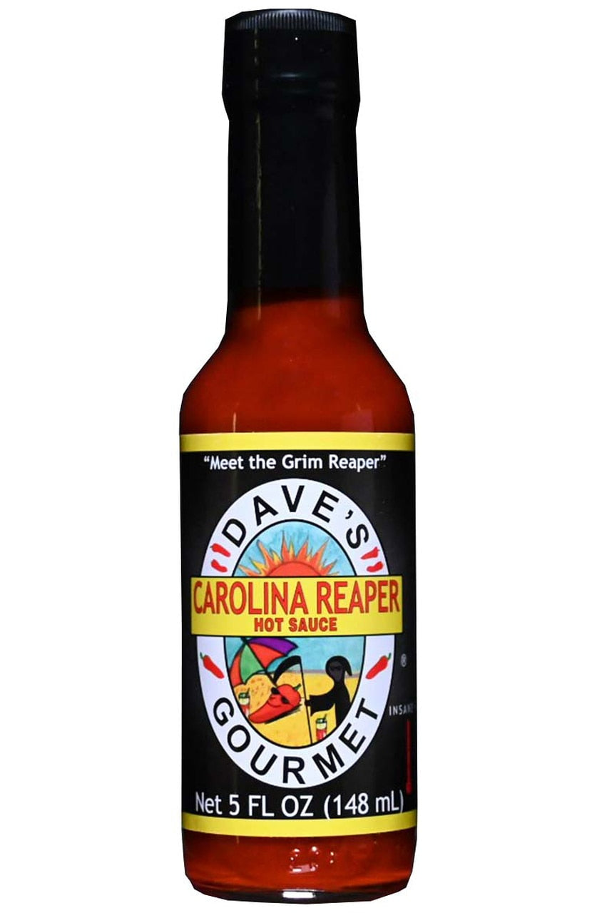 Dave's Gourmet Carolina Reaper Hot Sauce, 5 oz