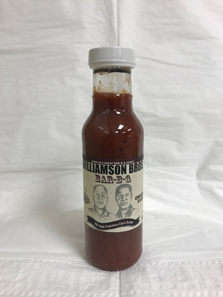 Williamson Bros. Original BBQ Sauce 12 oz, 6-pack - Snazzy Gourmet