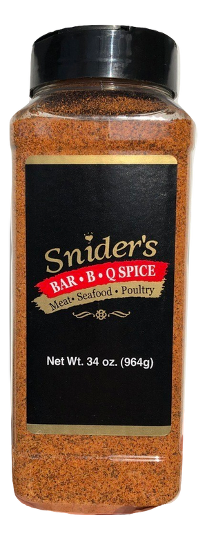 Snider's Traditional Bar-B-Q Spice, 34 oz - Snazzy Gourmet