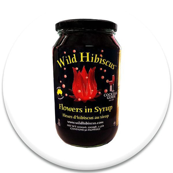 Wild Hibiscus Flower Ultimate Holiday Cocktail Set - Snazzy Gourmet