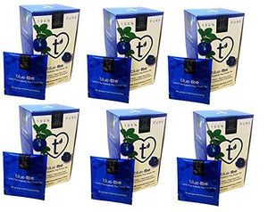Wild Hibiscus Blue-Tee 100% Pure Butterfly Pea Flower Tea - 1.1 oz (Pack of 6) - Snazzy Gourmet