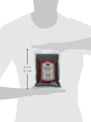 Spicy World Peppercorn (Whole)-Black Tellicherry, 16 Oz. bag - Snazzy Gourmet