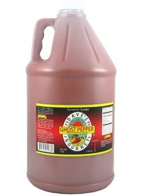 Dave's Gourmet Ghost Pepper Naga Jolokia Hot Sauce, Gallon