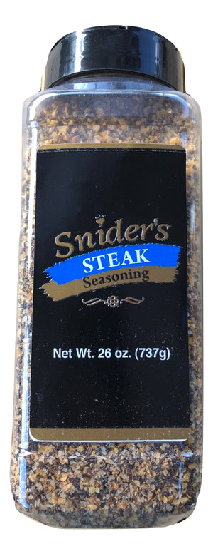 Snider's Steak Seasoning, 26 oz - Snazzy Gourmet